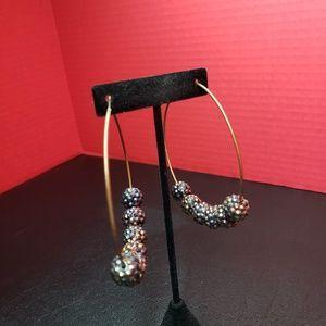 Jewelry - Jumbo hoop fashion earrings